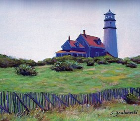 099 Early Morning Lighthouse &#8211; Journal Small