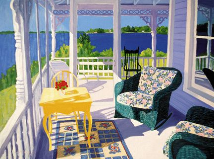 112 Screen Porch – Large Print