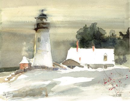 114 PEMAQUID IN DECEMBER – Magnet