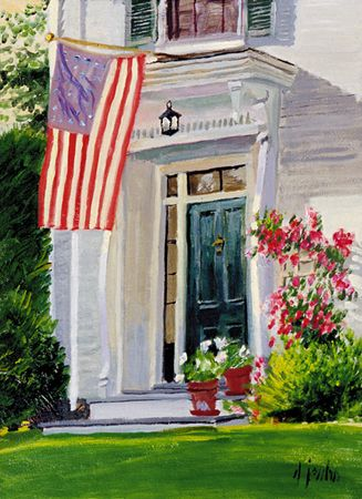 128 The Patriot – Matted Card