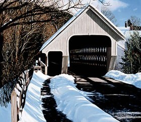 184 Middle Bridge, Winter &#8211; Cards