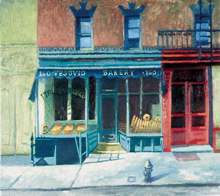 208 Vesuvio's Bakery – Matted Card