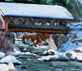 223 Packard Hill Covered Bridge – Cards