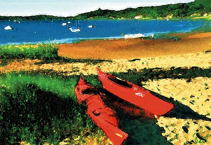 228 Red Kayaks – Cards