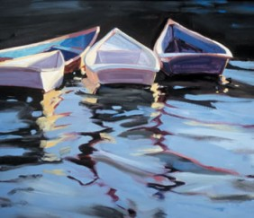 260 ROWBOATS IX – Matted Card
