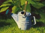 288 Watering Can #2 – Matted Card