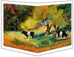 818 Cows Grazing – Matted Wrapcard