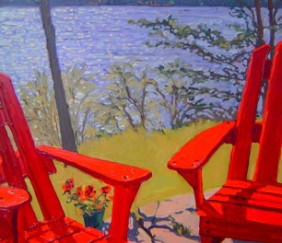 335 Red Chairs – Cards