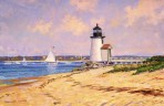 164 Brant Point Light – Matted Card