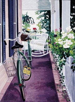 194 Bicycles – Matted Card