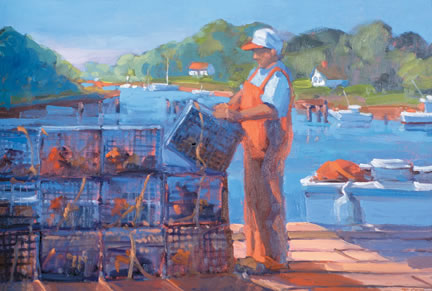 259 THE LOBSTERMAN – Matted Card