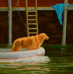 282 Dock Dog – Matted Card