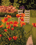 284 Poppies and Chairs – Cards