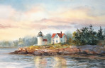 299 Curtis Island – Matted Card