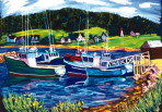 300 Snug Harbour – Matted Card