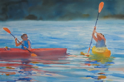 311 Learning to Paddle – Matted Card